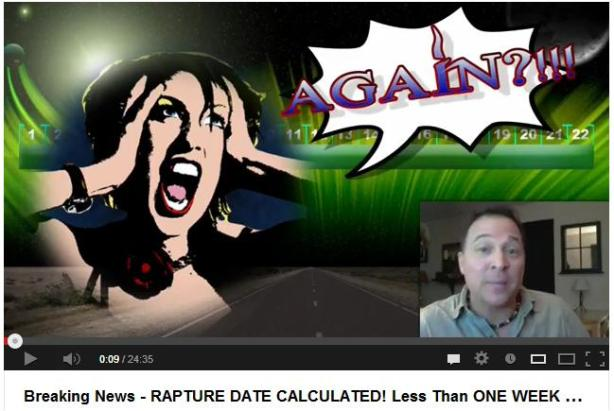 Rapture Date Set Again?